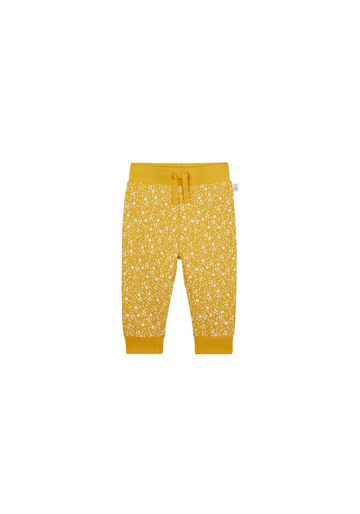 Mothercare   Girls Joggers Floral Print - Mustard