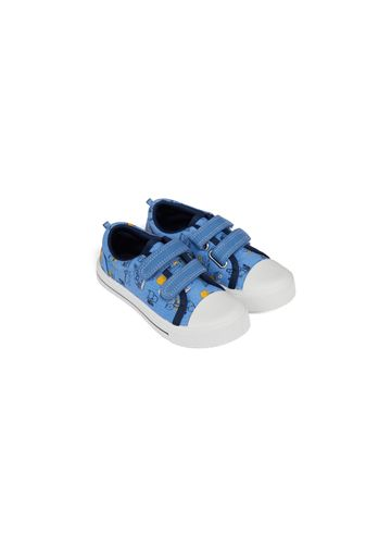 Mothercare | Boys Canvas Shoes Truck Print - Blue