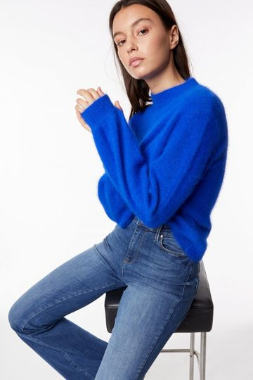 GAS | Power Bluette Women's Halle Textured Sweater