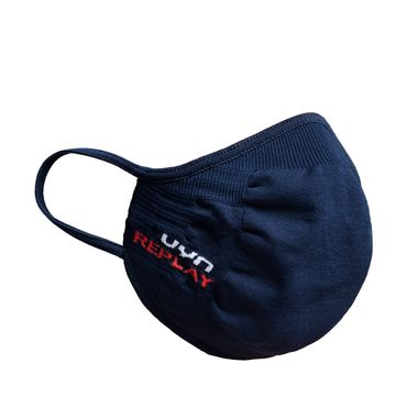 REPLAY | Navy Nano Knit Mask