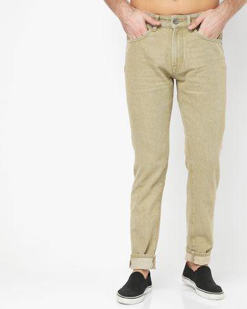GAS | Men's Norton Carrot In Carrot Fit Beige Jeans