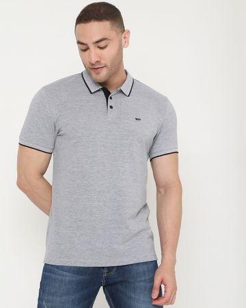 GAS | Men's Ralph Basic Ec In Slim Fit Solid Polo