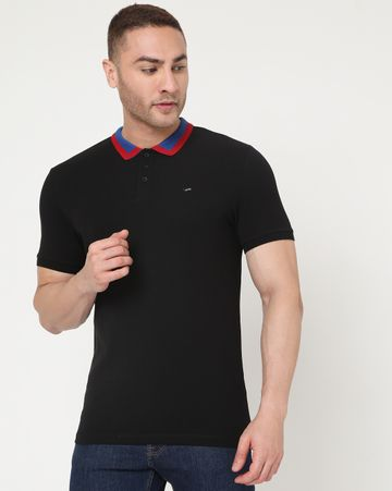GAS | Men's Ralph Tape Ec In Slim Fit Solid Polo