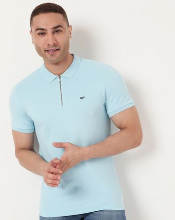 GAS | Men's Zack Ec In Slim Fit Striped Polo