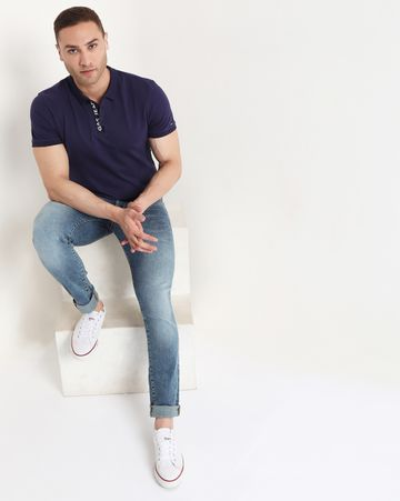 GAS | Men's Ralph Plack In Slim Fit Polo