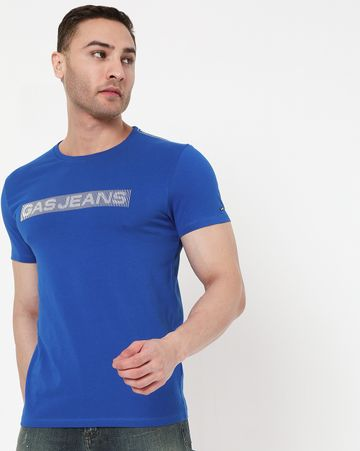 GAS | Men's Scuba Line In Crew Neck T-Shirt