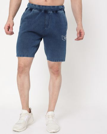 GAS | Men's Scott Indigo In Slim Fit Shorts