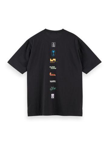 Scotch & Soda | Colorful logo artwork t-shirt