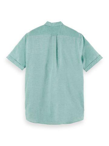 Scotch & Soda | Organic cotton blend short sleeve polo shirt