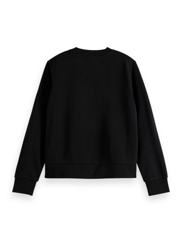 Scotch & Soda | Crewneck sweat with graphic in various techniques