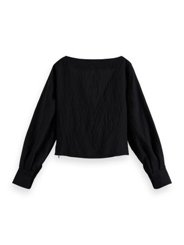 Scotch & Soda | Knotted top with V-neck