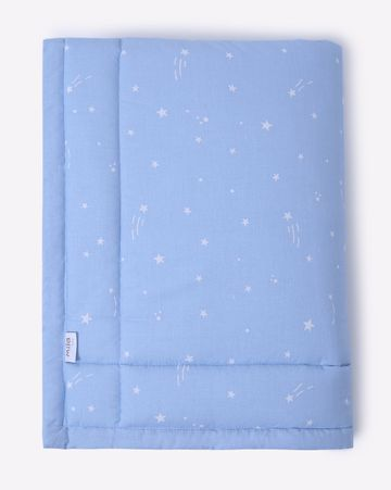 Mothercare | Mila Baby Blue Stars Mattress