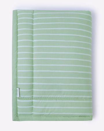 Mothercare | Mila Baby Green Stripe Mattress