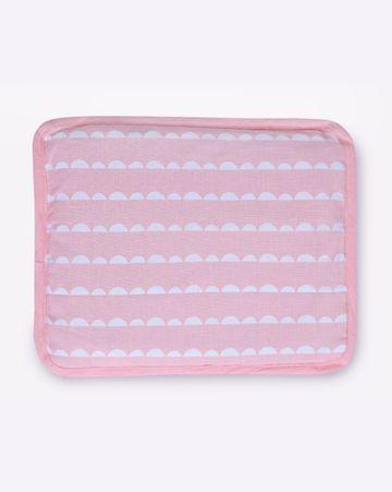 Mothercare | Mila Baby Pink Wave Rai Pillow