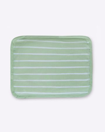 Mothercare | Mila Baby Green Stripe Rai Pillow