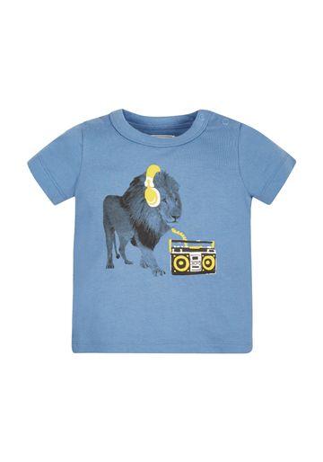 Mothercare | Boys Lion T-Shirt - Blue