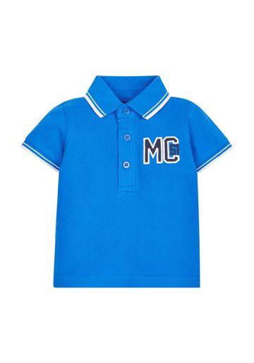 Mothercare | Blue Pique Polo Shirt