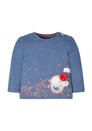 Mothercare | Girls Mouse T-Shirt - Blue