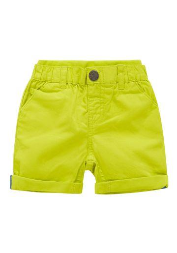 Mothercare | Boys Rib Waist Shorts - Green