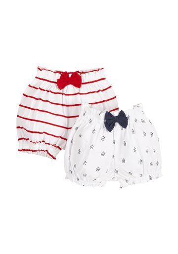Mothercare | Girls Nautical Bloomers - Pack Of 2 - Multicolor