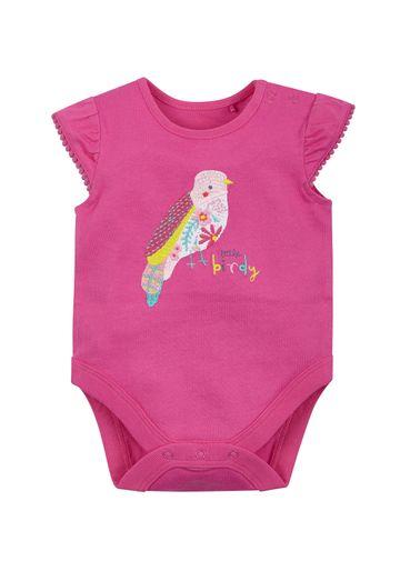 Mothercare | Girls Tropical Bird Bodysuit - Pink