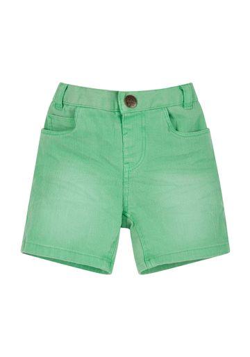 Mothercare | Boys Green Denim Shorts - Green