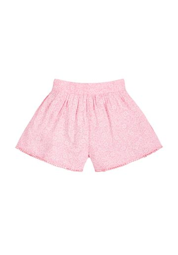 Mothercare | Girls Floral Shorts - Pink