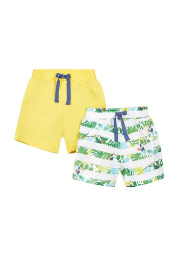 Mothercare | Boys Stripe Shorts  - Pack Of 2 - Multicolor