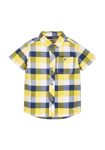 Mothercare | Boys Half Sleeves Check Shirt - Multicolor