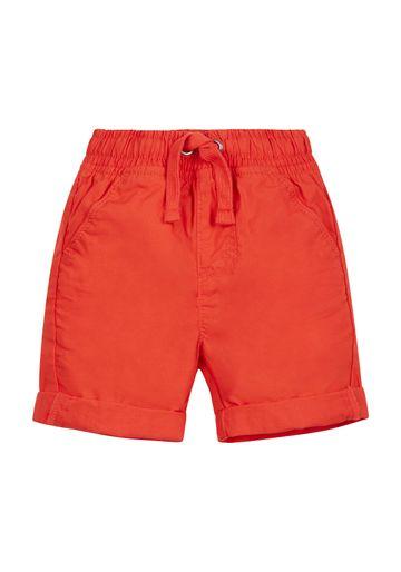 Mothercare   Boys Poplin Shorts - Red