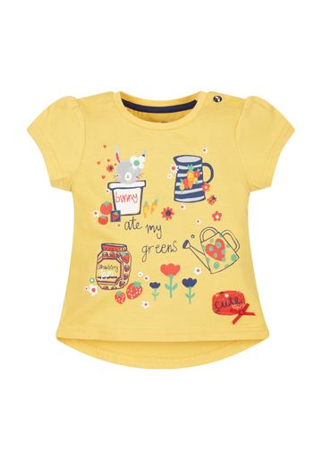 Mothercare | Girls Bunny Ate My T-Shirt - Yellow