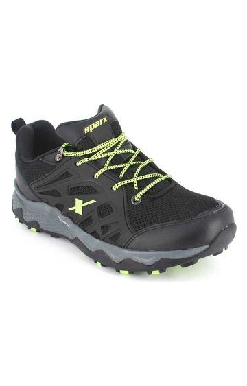Sparx | Black Running Shoes