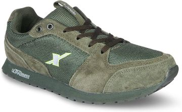Sparx   Olive Running Shoes