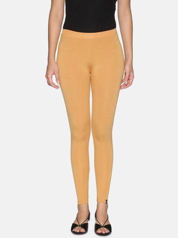Twin Birds | Twinbirds Honey Mustard women Ankle Legging - Radiant Series