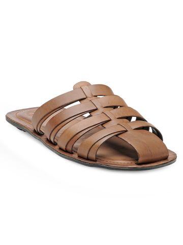 FRANCO LEONE | Franco Leone Tan Leather Men's Slipper