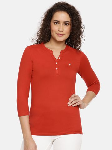 Feather Soft Elite | Womens Solid Henley