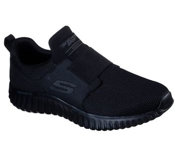 Skechers   Black Depth Charge 2.0 Sports Shoes
