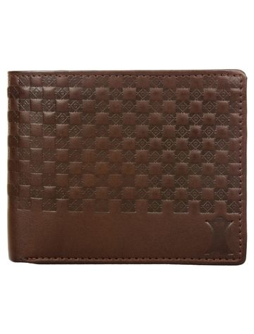 CREATURE | CREATURE Tree Brown Sleek and Bi-fold Embossed PU Leather Wallet with Multiple Card Slots for Men