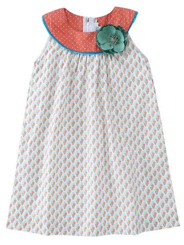 Popsicles Clothing | Popsicles Sorbet Dress Regular Fit Dress For Girl