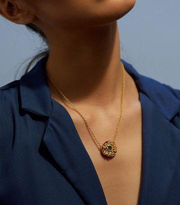 ZARIIN | Cluster of Joy Pendant Necklace