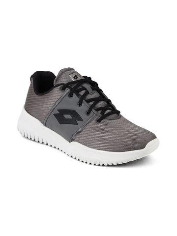 Lotto | Lotto Men's Cityride AMF Evo II Cool Gray 11C/All Black Training Shoes