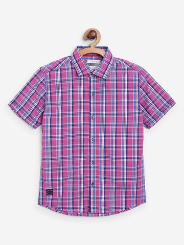 OCTAVE | Boys PINK Casual Shirts