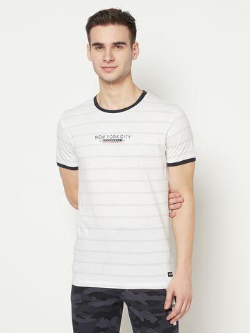 OCTAVE | Men WHITE T-Shirts