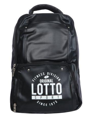 Lotto | Lotto Laptop Back Pack Script Black