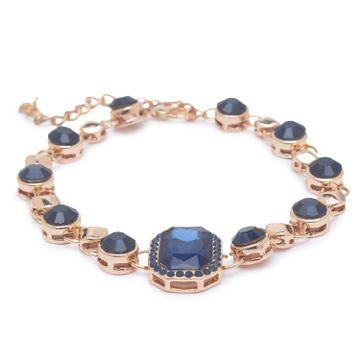 globus | Globus Gold and Navy Clasp Bracelet