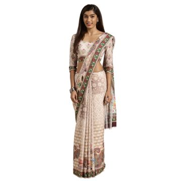 SATIMA | Satima MultiPoly GeorgetteDigital Print Saree
