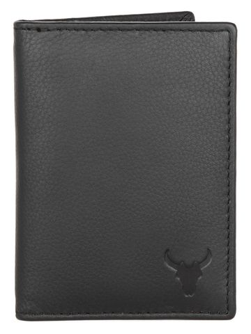 Napa Hide | Napa Hide RFID Protected Genuine High Quality Black Leather Card Holder For Men