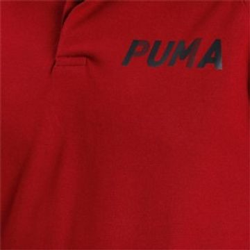 Puma | Red Solid Modern Sports Polo T-Shirt
