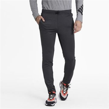 Puma | PUMA Elevated Track Pants op Dark Gray Heathe LIFESTYLE BOTTOM