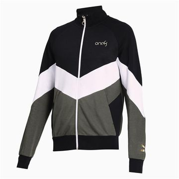 Puma | PUMA VK Ms Stylised Full-Zip Puma Black-Puma LIFESTYLE TOP